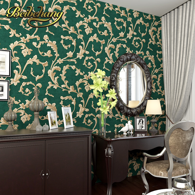 3d Floor Wallpaper Online Aliexpress Com Buy Beibehang American Country 3d