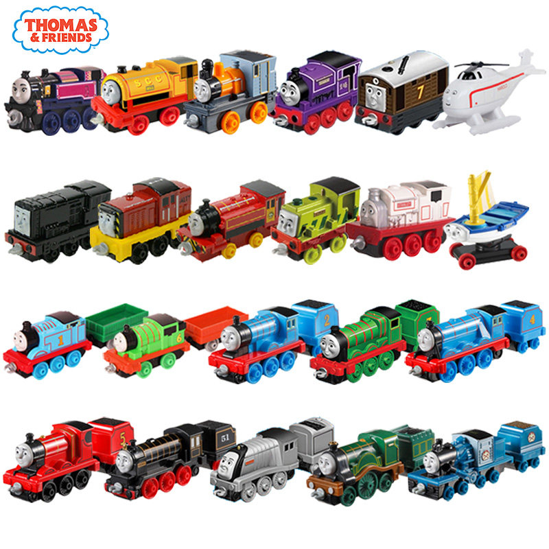 Original Thomas and Friends Baby Train Toy Anime Thomas Car Track Learning  Building Toy Brinquedos Para Criancas For Children