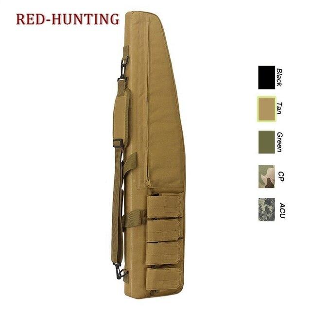 47'' 120cm/70cm/95cm Tactical Gun Bag Heavy Duty Rifle Shotgun Carry Case Bag Shoulder Bag for Outdoor Hunting 3