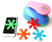8cm SnowFlake 3 Large DIY Craft Punch For EVA Puncher Card Making Creative Embossing Device Stationery
