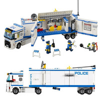 Bela 10420 Urban City Series Police Commanding Car 60044 Building Block 394pcs Bricks Toys Children Gifts