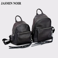 Fashion Design Women Real Cow Genuine Leather School Backpacks Casual Lady College Adults Book Bag Female Travel Backpacks