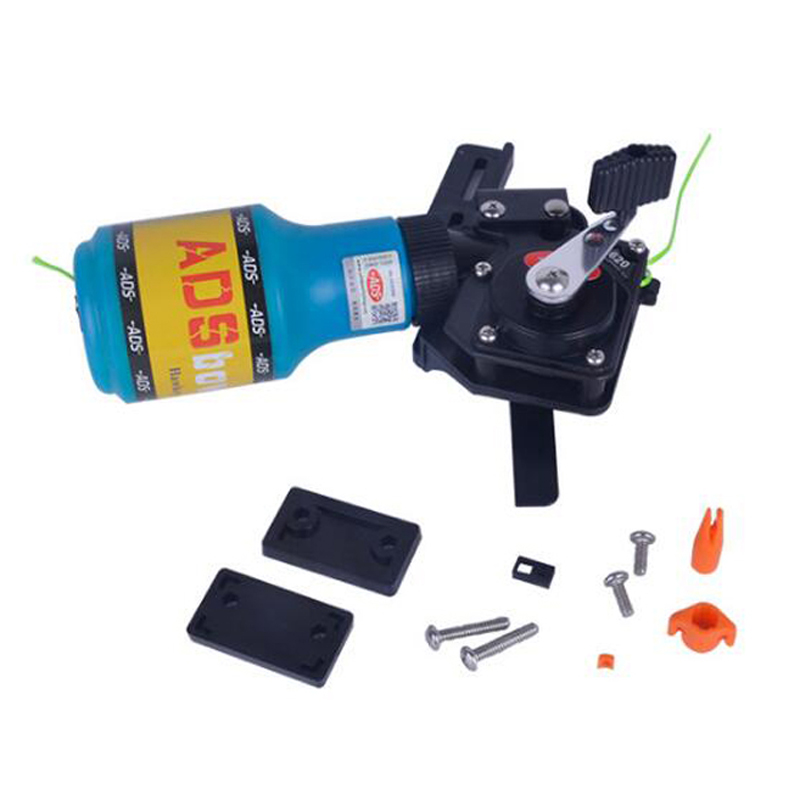 ADS Bow fishing Model Instruction Spincast Reel Machine Bottle Rope Quiver Used For Archery Compound Bow