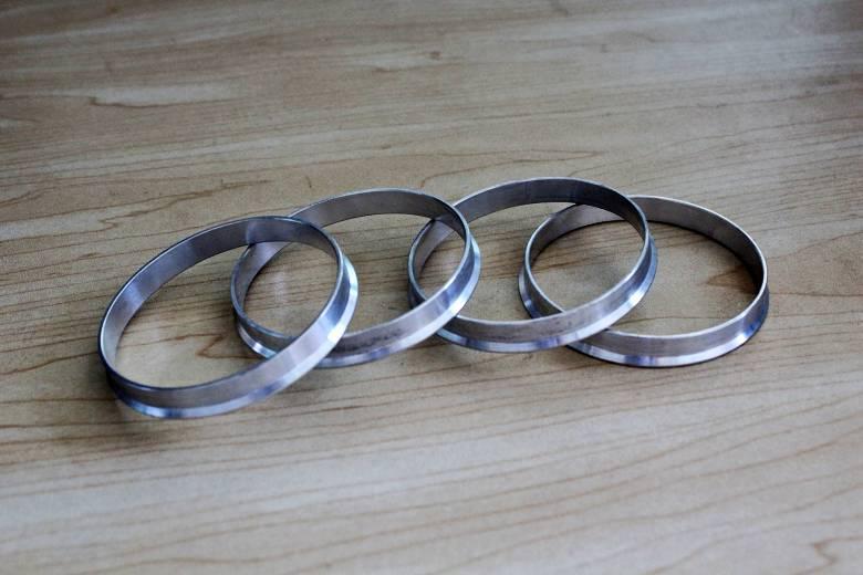 4 pieces / lots 72.6 SAMPAI 67.1 Hub Centric Rings OD = 72.6mm ID = - Suku cadang mobil - Foto 2