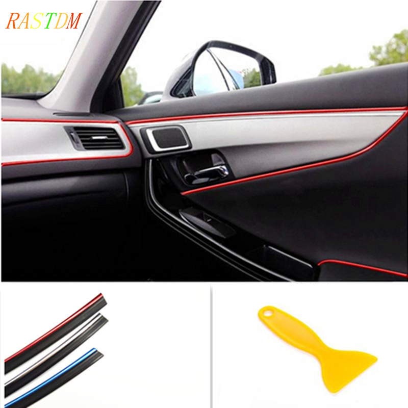 5M Interior Sticker Decoration Strip Car Styling For Ford Focus 2 Chevrolet Cruze Aveo Captiva Lacetti TRAX Sail Accessories executive car