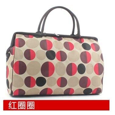 Folding bag female hand-held bag large capacity travel short male boarding waterproof duffel bag travel packages JJ170031