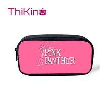 Thikin Pink Panther school supplies Pencil Bags Pen Bag for Girls Case Student Makeup Storage HandBags Purses Kids