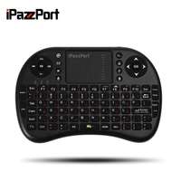 Mini Wireless Keyboard 2 4G With Touchpad Handheld Keyboard For PC Android TV Wholesale