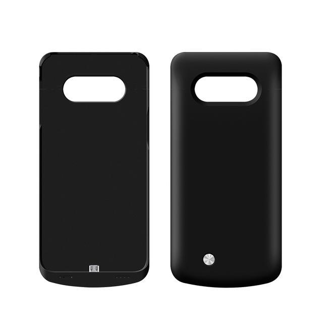 4200 mah de copia de seguridad externa cargador de batería de alimentación de la batería casos para samsung galaxy s6 edge plus cubierta de la caja de batería externa