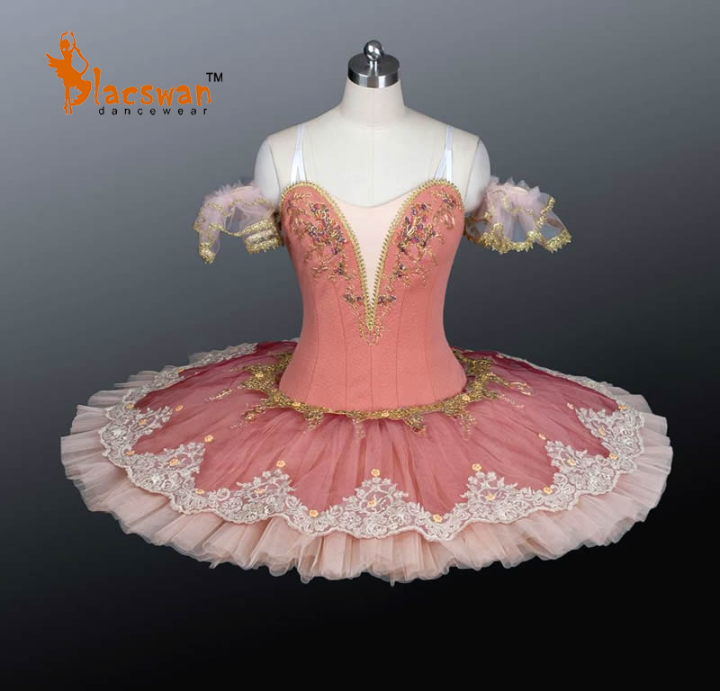 Peach Fairy Classical Ballet Tutu BT801 Girls Platter Tutus Pink Professional Adult Performance Pancake Costume - Guangzhou Blacswan Dance & Activewear Co., Ltd. store