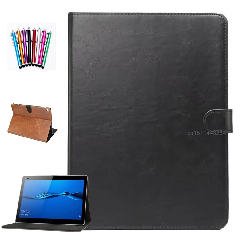 2017 New luxury leather Case Cover For Huawei MediaPad M3 Lite 10 tablet smart Case M3 lite 10 Youth Edition BAH-W09 BAH-AL00 for 2017 huawei mediapad m3 youth lite 8 cpn w09 cpn al00 8 tablet pu leather cover case free stylus free film