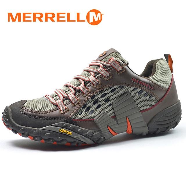 fe21e166f88828 Merrell Men's Light Air Mesh Breathable Outdoor Sport Hiking Shoes For  Mountain Cross-Country Climbing Aqua Beach Sneakers 39-45