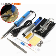 9 in1 DIY Electric Soldering Iron Handle Heat Pencil Pen Welding Station