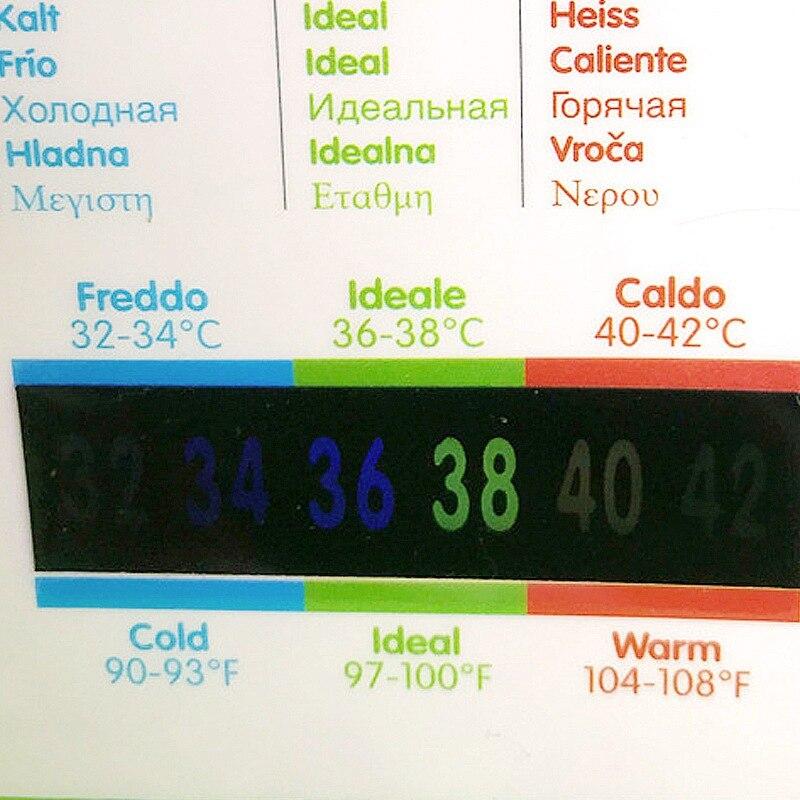 Angemessen Baby Bade Säuglings Badewanne Wasser Thermometer Karte Wasser Temperatur Badewanne Pool Cartoon Tester Thermometer Toilettenartikel