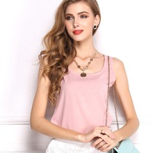 2019 New Women Blouses Feminine Clothes Tank Top Summer Sexy Chiffon Plus Size Female Casual Base Tops S-XXXL 10 Colors