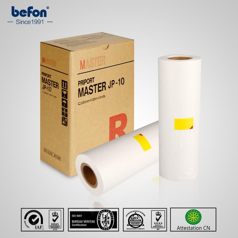 befon Master Roll JP 10 JP-10 JP-10M B4 Compatible for Ricoh JP1050 1045 1055