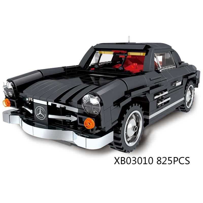 Classic dream cars Creative super luxury cars Benz Vintage car MOC ...