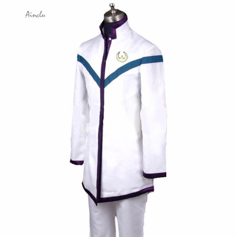 Ainclu Customize Free Shipping Saint Seiya Omega Pegasus Koga Palaestra Boys School Uniform Adult Kid Halloween Cosplay Costume