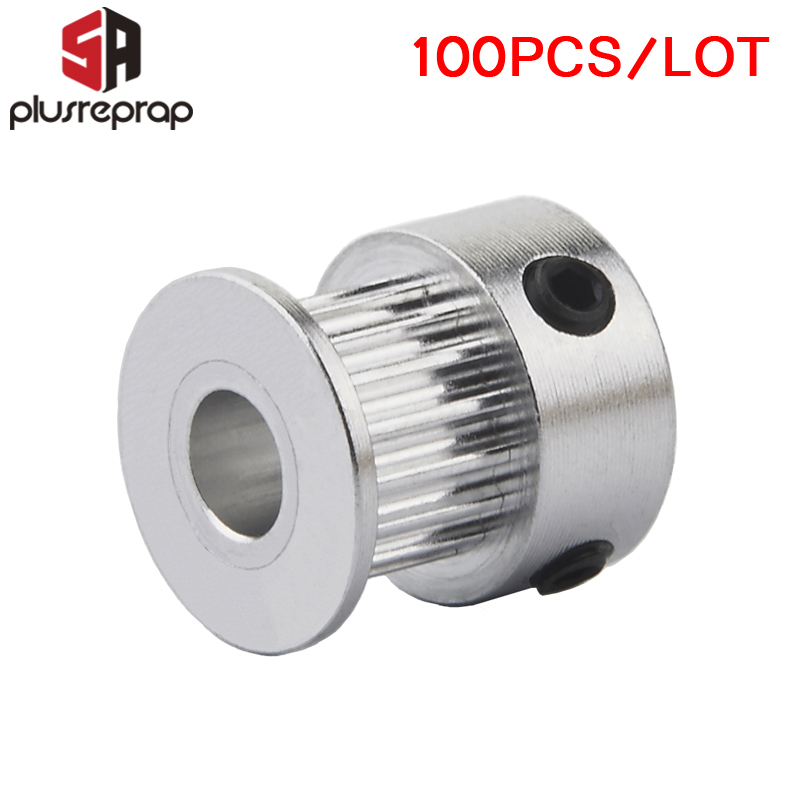 10Pcs gt2 timing pulley 20 teeth bore 5mm 8mm for gt2 synchronous belt OJ