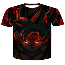 Dragonball Z T Shirts Men 3D Print Goku Super Saiyan God