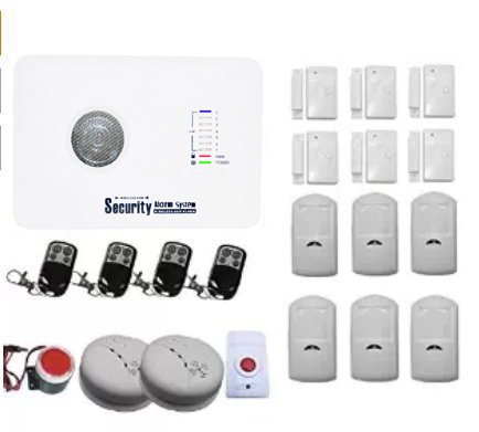 YobangSecurity Touch Keypad Wireless GSM SMS Autodial Smart Home Security Burglar Alarm System Smoke PIR Motion Door Sensor 16 ports 3g sms modem bulk sms sending 3g modem pool sim5360 new module bulk sms sending device