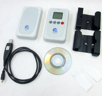 10pcs RESET 7 Digits LCD Coin Counter Meter 2 Channels For Counting