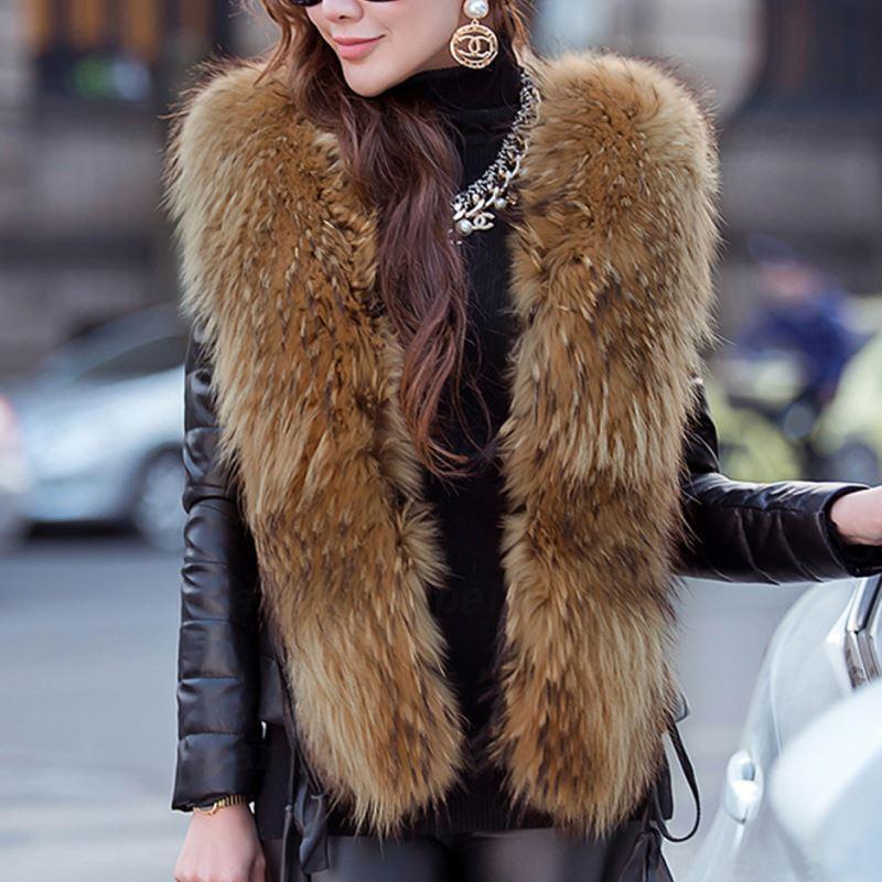 Laipelar autumn winter faux leather jacket plus size streetwear women winter overcoat women faux fur collar slim leather jacket