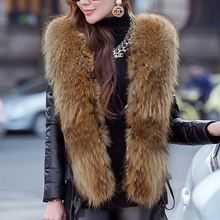 Laipelar autumn winter faux leather jacket plus size streetwear women overcoat fur collar slim