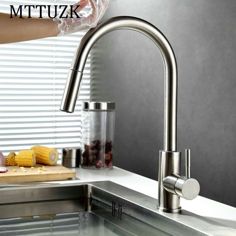 Mttuzk Smart Touch Sensor Kitchen Faucet Touch Faucets Water Saving