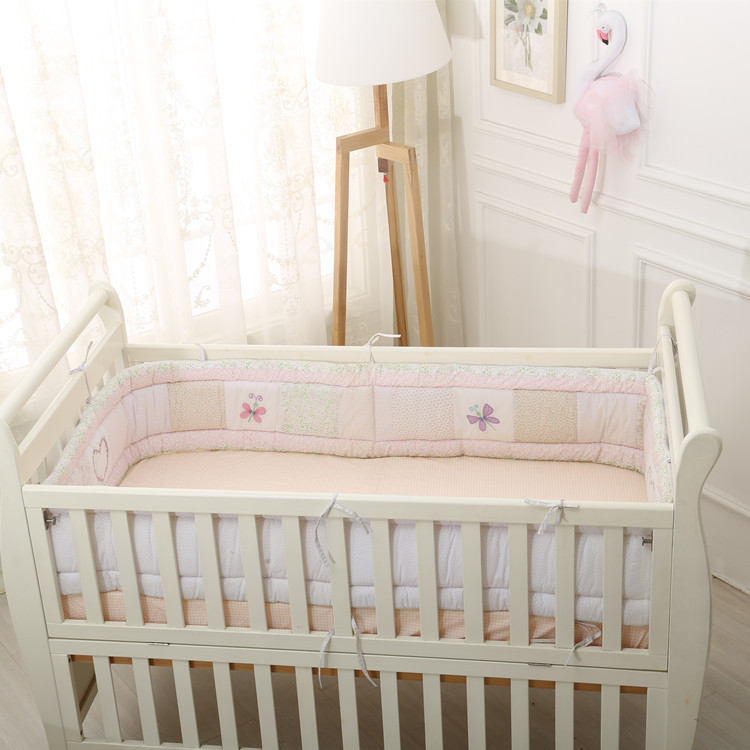 30*400cm Baby Bed Bumpers Cotton Classic Baby Girl/boy Bed Bumper Decorative Baby Cot Bumpers Crib Bedding 400 30