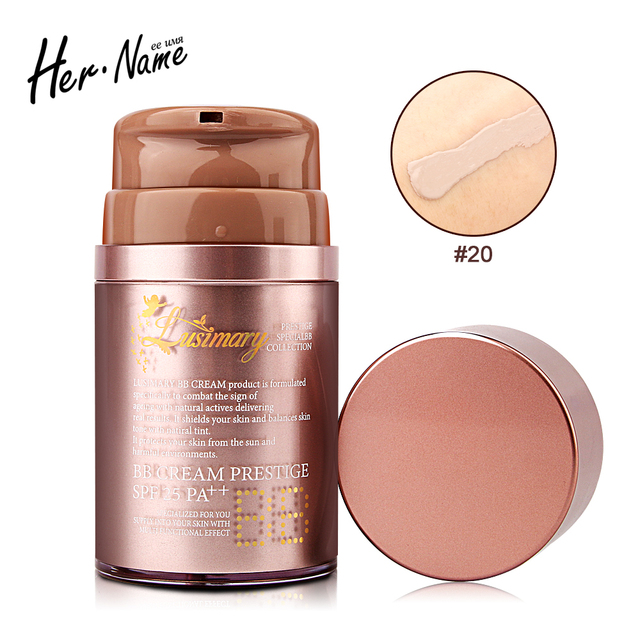 New arrival bb cream Sun Block makeup concealer korean cosmetic base creme correction foundation creme naked whitening
