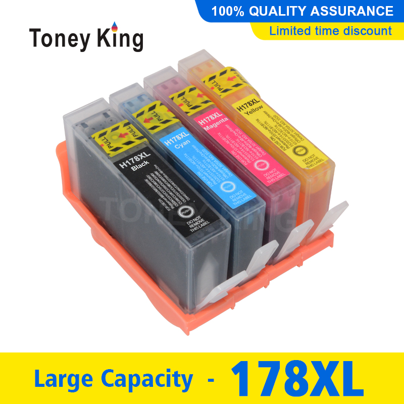 178XL Compatible Ink Cartridge Replacement for <font><b>HP</b></font> <font><b>178</b></font> XL for <font><b>HP</b></font> Photosmart 7515 5515 B109a B010b B209 B210 3070A 3520 7510 image