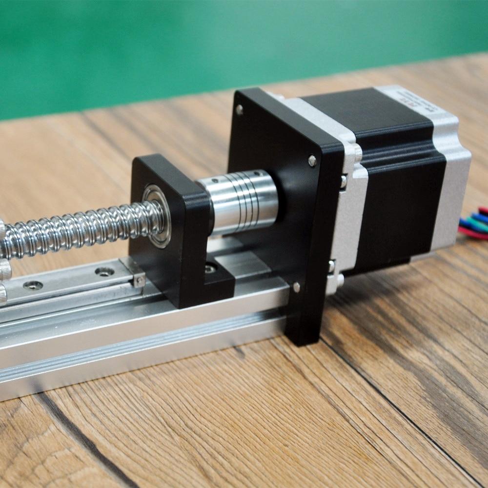 CNC lineal guía etapa carril movimiento deslizante de mesa tornillo de la bola del actuador Nema 23 Motor módulo para 3d piezas de la impresora XYZ brazo robótico Kit - 3
