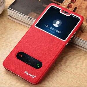 Image 5 - עבור Huawei Honor 8C מקרה יוקרה חלון ספר Stand Case Flip עבור Huawei Honor 8C BKK L21 כיסוי עור הכבוד 9X 8X טלפון מקרה 8 S