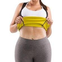 CHENYE New Women Plus Size Waist Trainer Belt 2019 Body Shaper Neoprene Slimming Vest Shirts Fat Burner Sweat Corset
