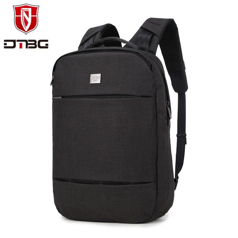 DTBG 17.3 inch Laptop Bag Large Capacity Casual Style School Backpacks for Boy Men Travel waterproof School Bags dtbg laptop backpack for men women s 15 15 6 inch backpacks for apple mackbook waterproof nylon school travel bags notebook bag