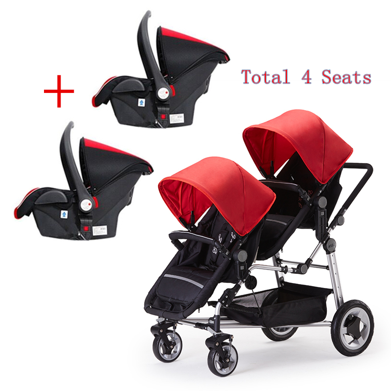 Aliexpress.com : Buy Total 4 seats high landscape twins baby ...