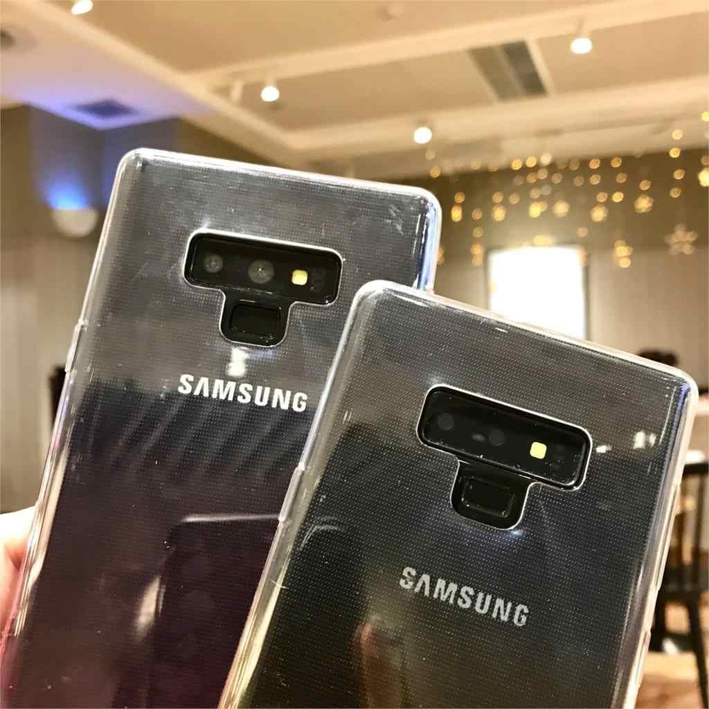 Rainbow Capa em Tpu Para Samsung Galaxy Note 9 8 Silicone Fundas S8 Plus S9 S10 A6 A7 A8 J4 j6 J8 2018 J3 J5 J7 J2 Casos Pro