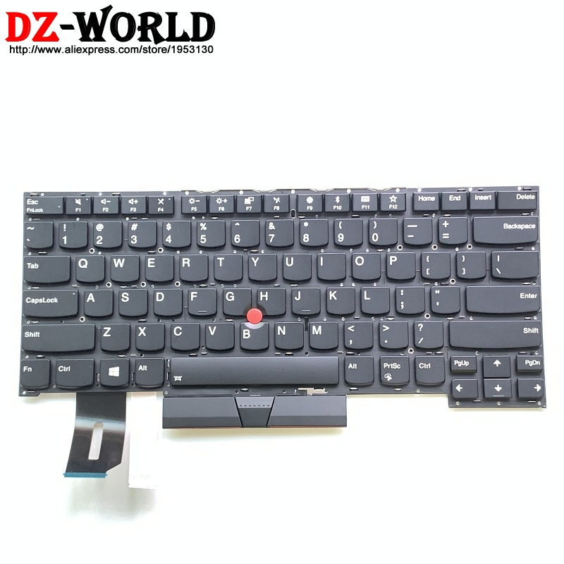 GinTai US Backlight Keyboard Replacement for Lenovo Thinkpad P1 X1 Extreme X1 SN8381BL2 SN2085R769