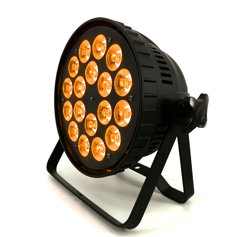 18x12W RGBW Led Par Light RGBW Stage Light Wash Lighting For Party Club 8 Channels DMX 512 Control Good Quality Aluminum Shell