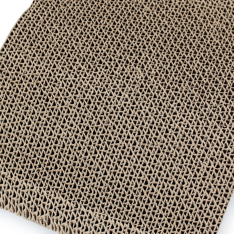 Factory stock wholesale Phi M type corrugated paper cat scratch board 4CM thick high density supplies in Furniture Scratchers from Home Garden