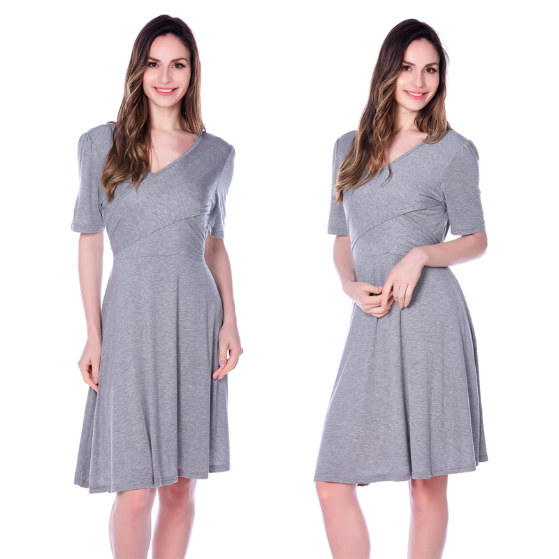 7dfd90e805f20 maternity dresses Breastfeeding Nursing Dress Cross way Style maternity  evening dresses summer New Arrival-in Dresses from Mother & Kids on  Aliexpress.com ...