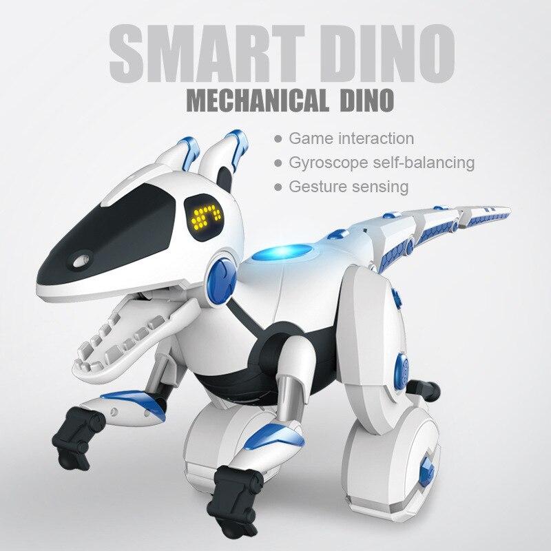 Jouet de dinosaures RC Intelligent de contrôle électrique Rmeote 28308 jeux interactifs éclairage par Induction danse chantant jouet de Dragon RC