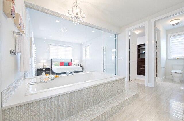 Steinboden Küche fabrik direkt shell fliesen perlmutt küche backsplash badezimmer