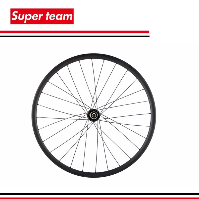 Vtt vélo 29ER carbone roues 25mm profondeur 27mm largeur VTT carbone roues sans crochet