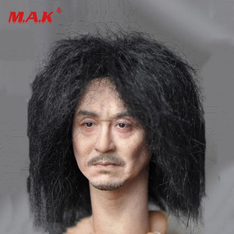 "New 1:6 Scale Kumik KM18-39 Male Paste Head Sculpt Figure Model PVC Hobbies fit 12"" Action Figure for Collection as Gift"