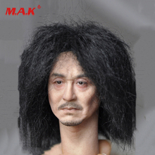 New 1:6 Scale Kumik KM18-39 Male Paste Head Sculpt Figure Model PVC Hobbies fit 12 Action for Collection as Gift