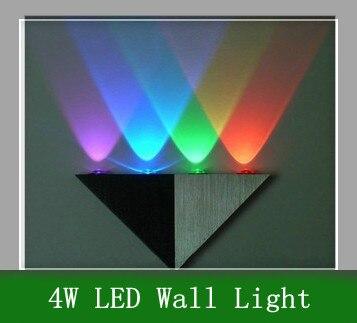 Rational [1pcs/lot] Novelty Mart 4w Led Wall Lamp Ac85-265v /hall /porch/ Walkway /lobby/corridor Light Fixture Bulb Free Shipping