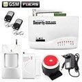 Novo Sem Fio/com fio GSM Home Security Assaltante Voz Android IOS Sistema de Alarme Auto Dialer Discagem de Chamadas SMS controle Remoto configuração