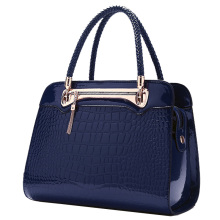 2016 Autumn and Winter Women's Handbag For Crocodile Elegance Tote Bag Fashion Travel Hand Made Bag